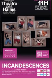 Affiche Incandescences Madani